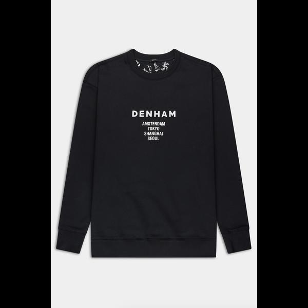 logo sweater zwart