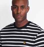 Lyle & Scott breton stripe sweatshirt ml1233v