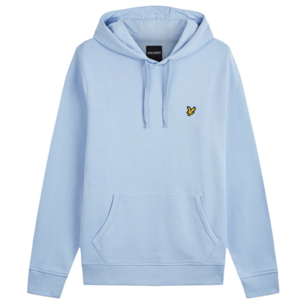 hoodie, licht blauw