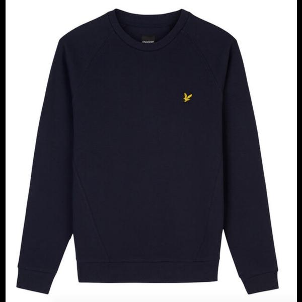 raglan pique sweatshirt