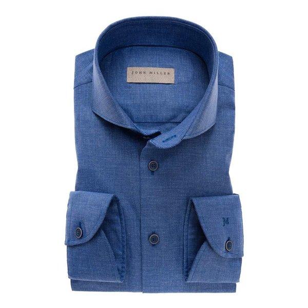 dress-shirt m. blauw