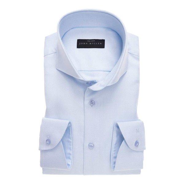 dress-shirt l.. blauw