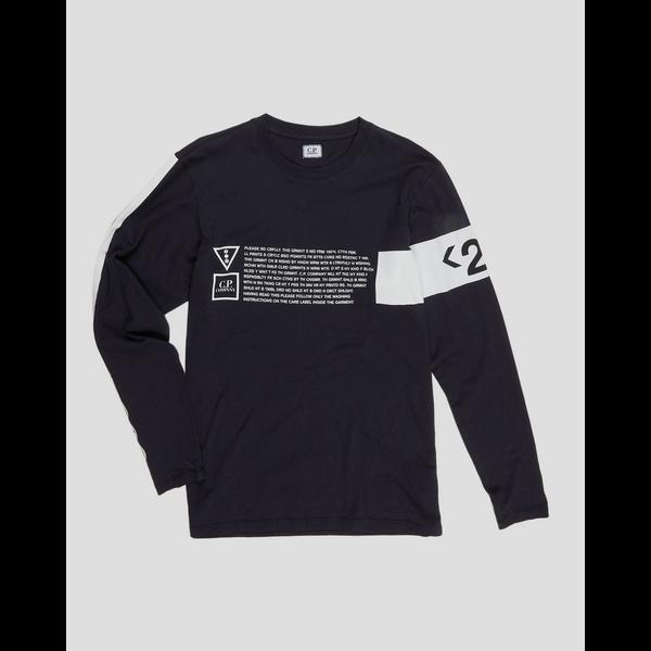 logo sweater, d. blauw
