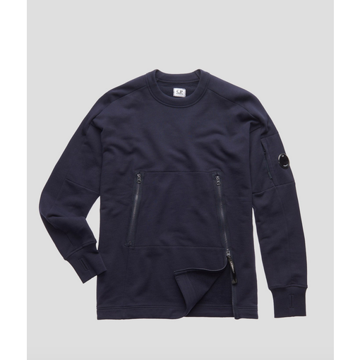 CP Company sweater diagonaal rits