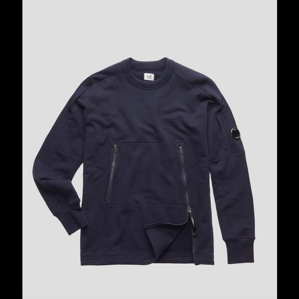 sweater diagonaal rits
