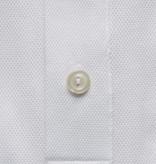Eton tricot polo-shirt wit slimfit