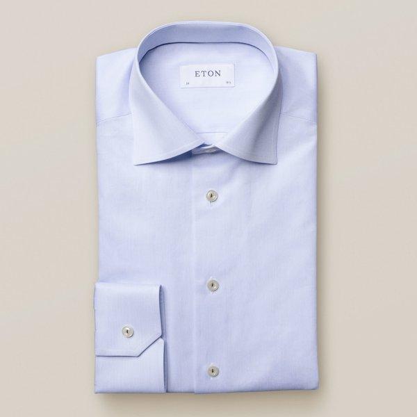 dress-shirt l. blauw slimfit