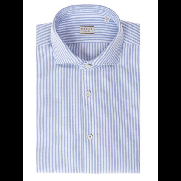 linnen shirt streep blauw