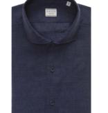 XACUS linnen shirt d. blauw