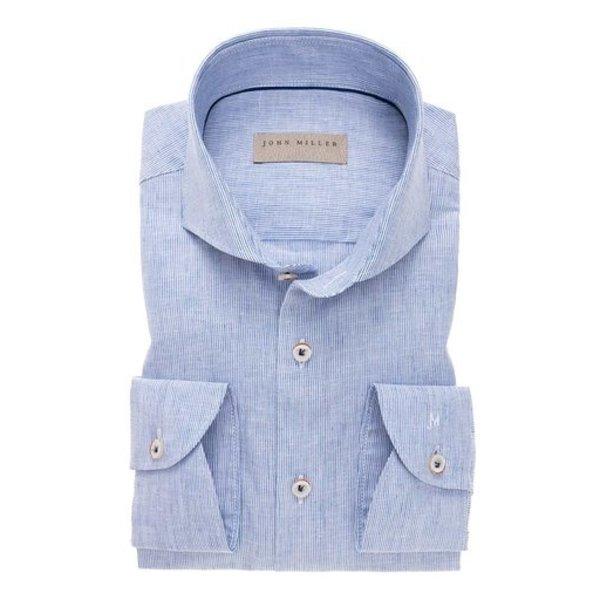 linnen dress-shirt streep