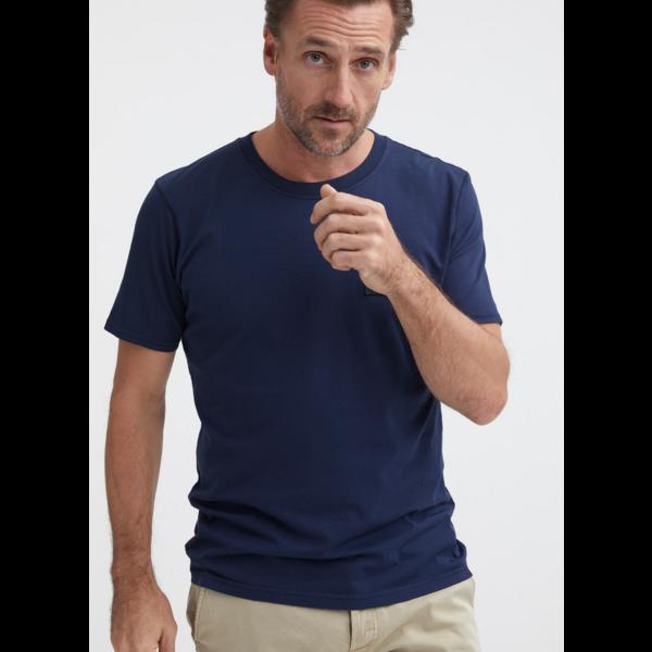 t-shirt d. blauw