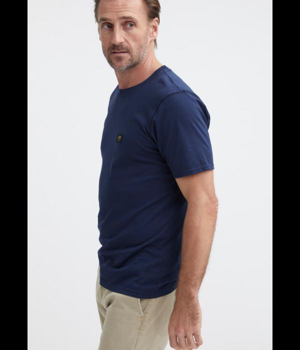 Denham t-shirt d. blauw