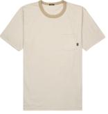 Denham t-shirt streep beige