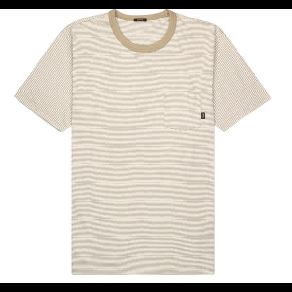 t-shirt streep beige