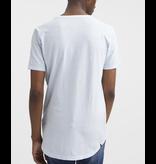 Denham t-shirt licht blauw