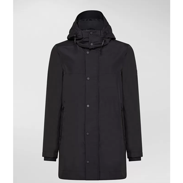 trench coat tupi zwart