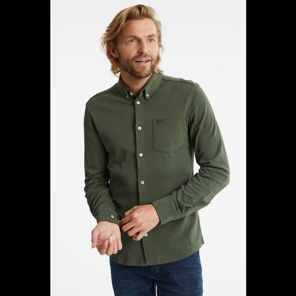tricot shirt groen