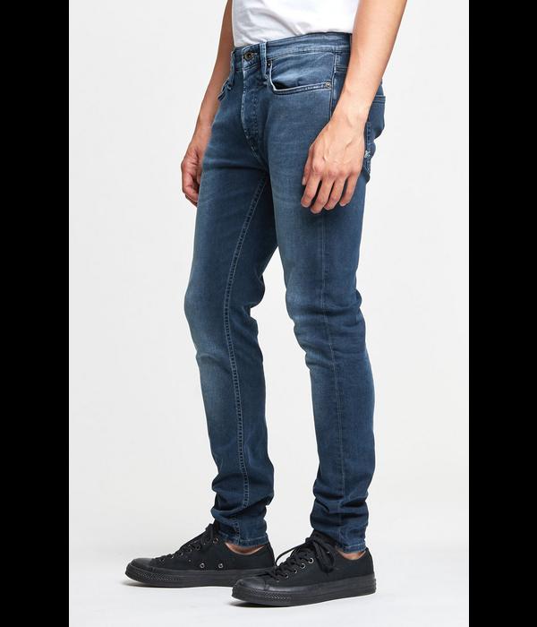 Denham jeans bolt mid. blauw