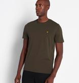Lyle & Scott uni t-shirt, div. kleuren