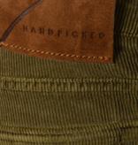 Handpicked orvieto rib 5-pocket mosgroen
