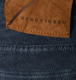 Handpicked orvieto rib 5-pocket m. blauw