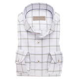 John Miller dress-shirt ruit groen/blauw