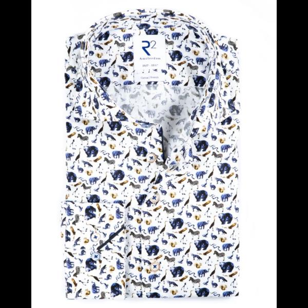 dress-shirt dierenprint