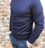 DANIELE FIESOLI merino trui ronde hals, div. kleuren