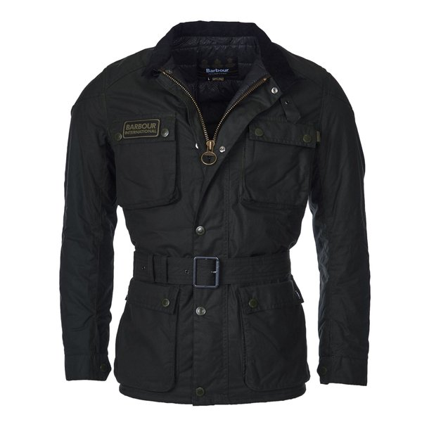Barbour international wax jack