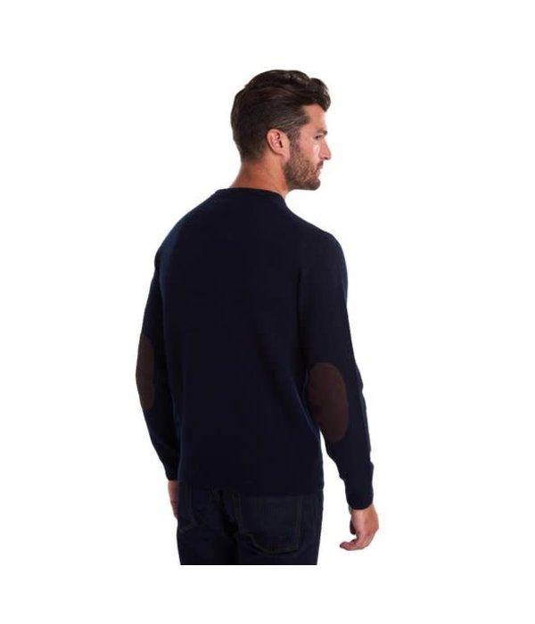 Barbour trui donker blauw
