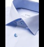 Eton dress-shirt l. blauw
