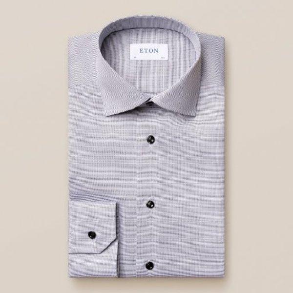 dress-shirt wit blauw