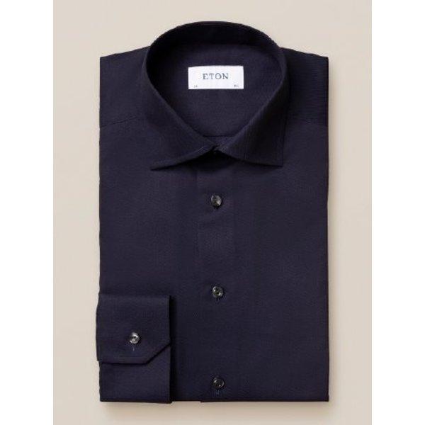 dress-shirt d. blauw