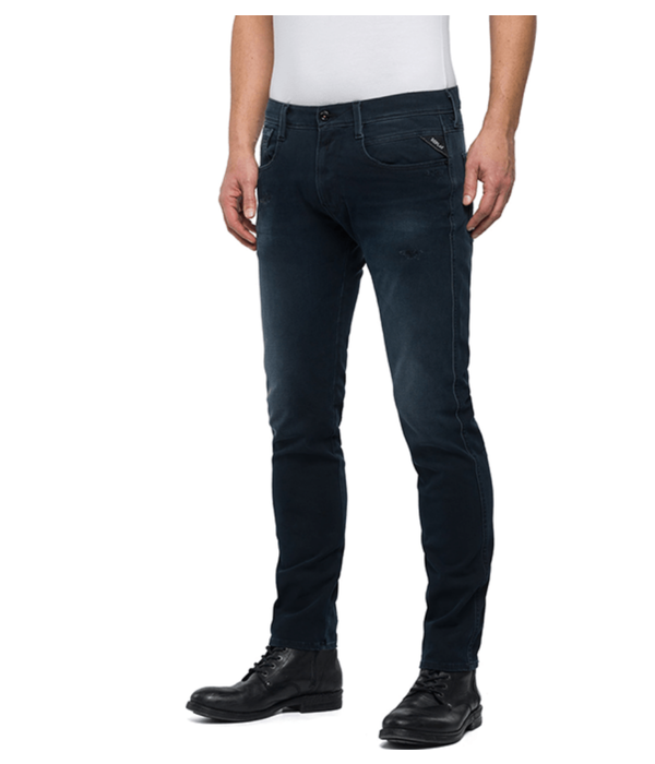 Replay anbass jeans blue black