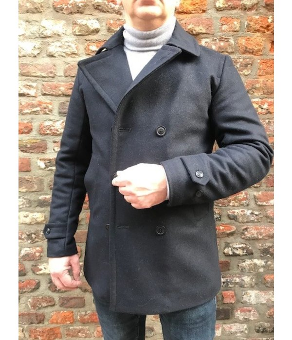 Barbour d. blauw coat