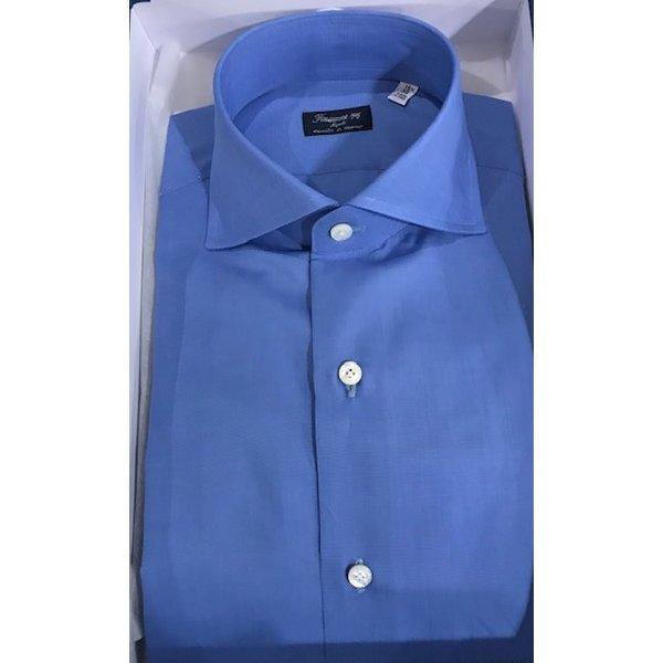 luxe dress-shirt napolitaans blauw