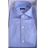 Finamore luxe dress-shirt l. blauw