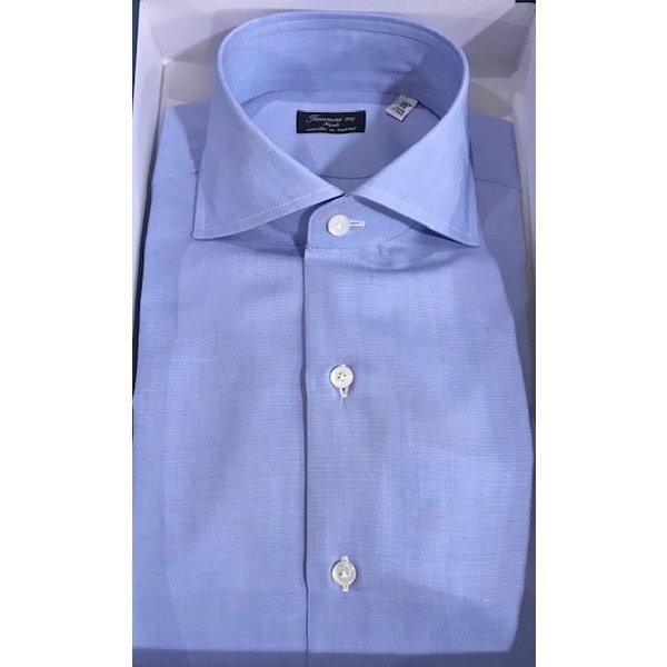 luxe dress-shirt l. blauw