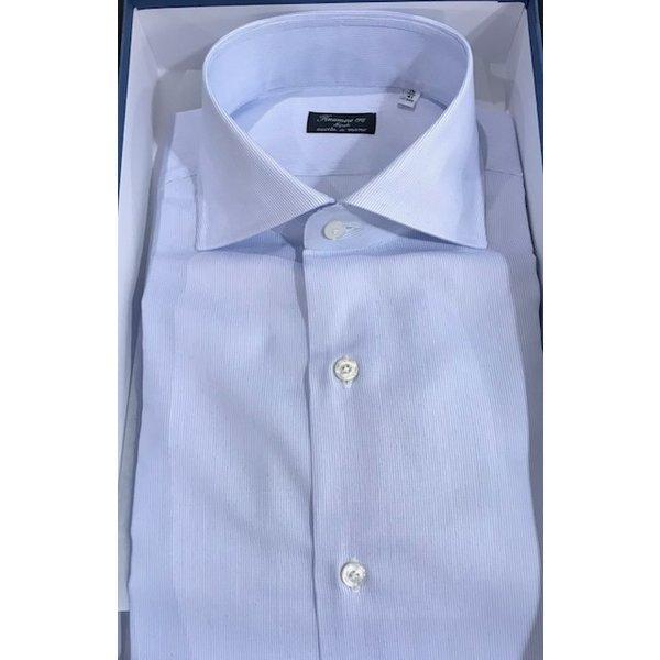 luxe dress-shirt ruit l. blauw
