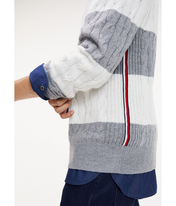 Tommy Hilfiger kabel trui, div. kleuren