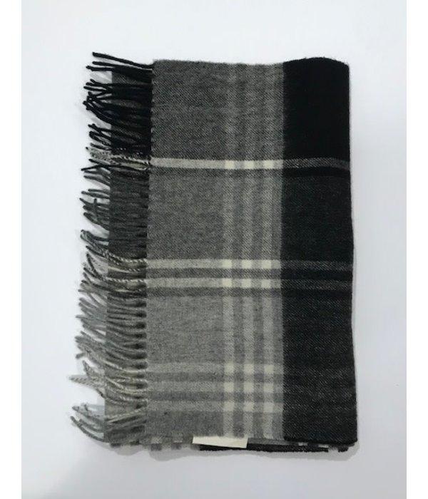 Barbour sjaal ruit grijs