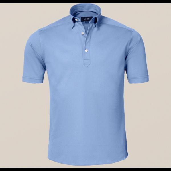 polo-shirt l. blauw
