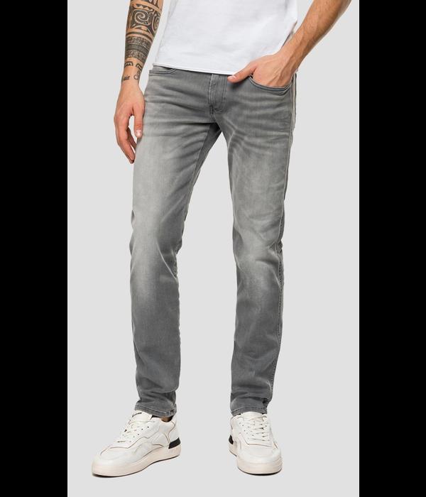 Replay anbass jeans l. grijs