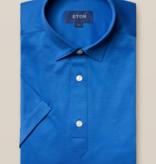 Eton eton polo-shirt kobalt