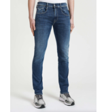 Replay anbass jeans m. blauw