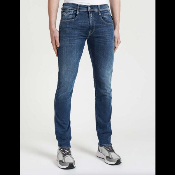 anbass jeans m. blauw