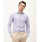 XACUS dress-shirt linnen streep