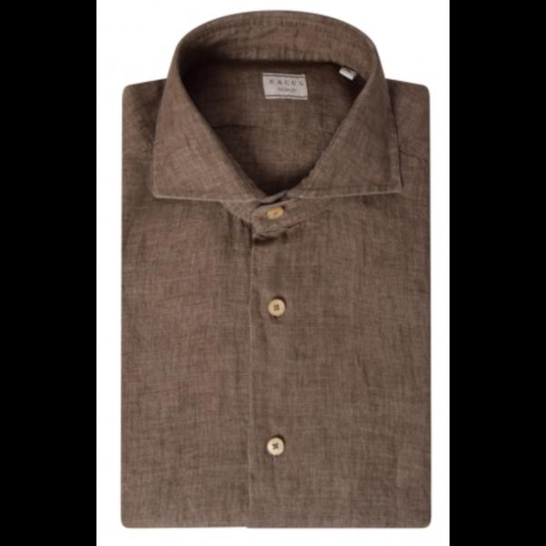 dress-shirt linnen bruin