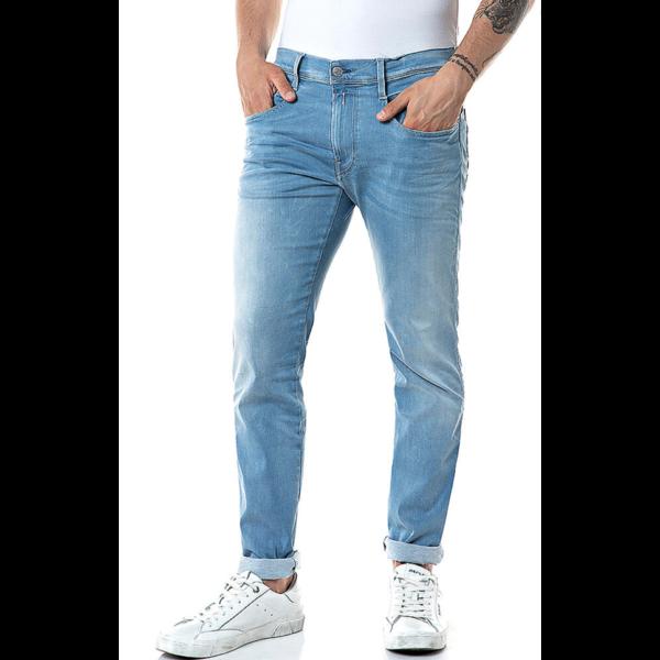 anbass jeans l. blauw
