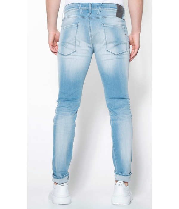 Replay jeans anbass l. blauw